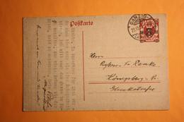 P 23 NACH KÖNIGSBERG. - Bezetting 1938-45