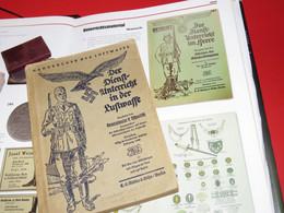 LIVRE D'INSTRUCTIONS DE LA LUFTWAFE 1942 !!! - 1939-45