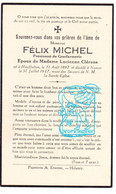 DP Im. Mort. - Gendarme Rijkswacht - Felix Michel 39j. ° Houffalize 1897 † Namur 1937 X Lucienne Clérens - Andachtsbilder