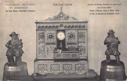 BRASPARTS - Le Lit Clos ( Horlogerie Bijouterie  F. Joncour  ) Pendule - France