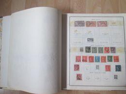 Collection France En Album Thiaude Incomplet Avec Faciale En Francs Et Divers - Collections (with Albums)