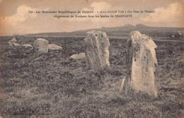 """BRASPARTS -  Les Monuments Megalitiques  """" Ann Eured Ven """"  Alignements De Rochers ( Menhir  ) 743  Joncour - Other Municipalities"""