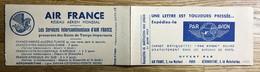 VIGNETTE 1937 - CARNET COMPLET MNH - VIGNETTES AIR FRANCE 1er Juin 1937 - TBE - Erinnophilie