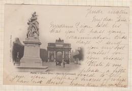 20A1452  PARIS QUAND MÊME PLACE DU CARROUSSEL Precurseur - Autres Monuments, édifices