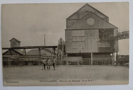 Carte Postale Ancienne - BULLY LES MINES - Bâtiment Des Machines Fosse N° 6 - Sonstige Gemeinden