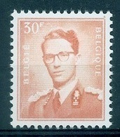 BELGIE Boudewijn Bril * Nr 1074 P3 * Postfris Xx * FLUOR  PAPIER - 1953-1972 Occhiali