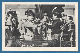 1930 CORPO DEGLI AGENTI DI PUBBLICA SICUREZZA POLIZIA VILLA GLORI ROMA CONSEGNA DELLA BANDIERA DA B. MUSSOLINI N°A28 - Inaugurazioni