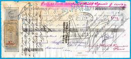 En L'état 1884 Lettre De Change De BUENOS AYRES à 81 Mazamet ** Fiscaux - Letras De Cambio