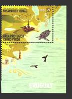 2020 Uruguay Tourism - Marine Life Fauna Trutle Protection Area Palm Trees Lighthouse Whale - Marine Life