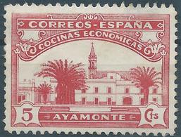 Spagna-Spain,Spanish,España,COCINAS ECONÓMICAS,AYAMONTE,Not Used - Wohlfahrtsmarken