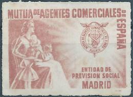 Spagna-Spain,Spanish,España,Social Welfare Madrid,Imperforated,Not Used - Wohlfahrtsmarken