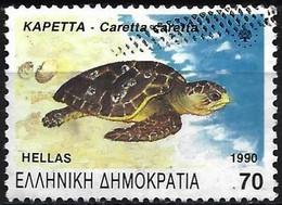 Greece 1990 - Mi 1739 - YT 1723 ( Tortul Loggerhead ) - Tartarughe