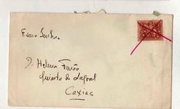 Cx16 29) Portugal 1$ 1957 Obliterado A Caneta Vermelha  > Esposa Governador Moçambique Caxias - Sin Clasificación