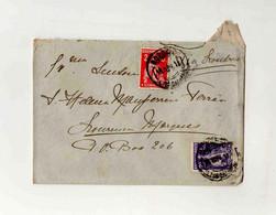 Cx16 35) Portugal Ceres 2 C 2,5 C Lisboa > Esposa Governador Moçambique Lourenço Marques  Via Londres 1911 - Cartas