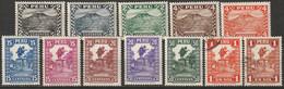 Peru 1932 Sc 305-9,311-7  Partial Set MH/used - Pérou