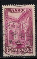 MAROC          N°  YVERT  :   141   ( 6 )    OBLITERE       ( Ob   9/23  ) - Gebraucht