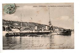 """83 - TOULON . """" LE SUFFREN """" . CUIRASSÉ D'ESCADRE - Réf. N°10480 - - Warships"""