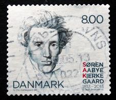 Denmark 2013 Kierkegaard  Minr.1740  ( O)    ( Lot G 542 ) Writer - Used Stamps