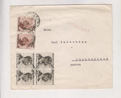 ROMANIA BUCURESTI Nice Cover To Austria - 1918-1948 Ferdinand, Charles II & Michael