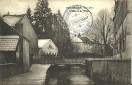 10345  CPA Selongey - L'Hôtel De Ville - Beau Cachet Militaire - 62e Régiment D'Infanterie -1er Bataillon  Le Commandant - Andere Gemeenten