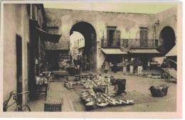 NICE - UN COIN DU VIEUX MARCHE - SUPERBE ANIMATION - VERS 1900 - Mercadillos