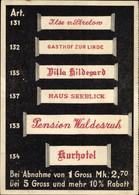CPA Barmen Wuppertal, Wäschezeichenfabrik Max Windrath, Reklame - Otros