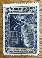 VIGNETTE 19?? - Les Eclaireurs De France - SCOUTS - NSG Sans Gomme - Avec Charnière - Andere