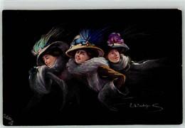 53112146 - Sign. Occhipinti, E. Frau Mode Tucks Ak Oilette - Andere Zeichner