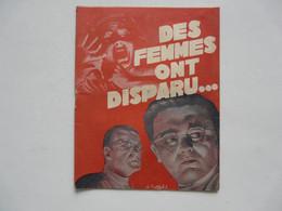 EDITIONS FOURNIER : Des Femmes Ont Disparu !... Par Marcel PIVERT - Zonder Classificatie