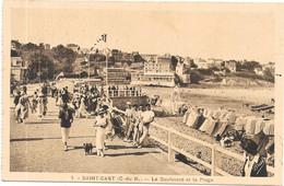 SAINT CAST : LE BOULEVARD ET LA PLAGE - Saint-Cast-le-Guildo