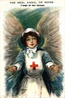 The Real Angel Of Mons, L'ange De Nos Blessés. Red Cross La Croix Roug 1914/15 WWI WWICOLLECTION - Weltkrieg 1914-18