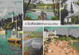 29 CLOHARS-CARNOET Le Port De Doëlan, Pont St-Maurice, église Paroissiale, Rochers De Kerrou, Plage Des ... - Clohars-Carnoët