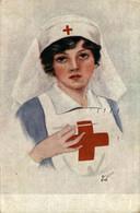 L'infirmiére. Red Cross La Croix Roug 1914/15 WWI WWICOLLECTION - Weltkrieg 1914-18