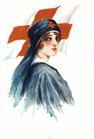 Infirmiére. Red Cross La Croix Roug 1914/15 WWI WWICOLLECTION - Weltkrieg 1914-18