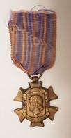 Médaille Croix Des Services Civiques 1914 1918 - France