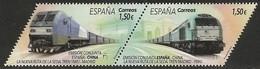 2019-ED. 5322 Y 5323 EN PAREJA- La Nueva Ruta De La Seda. España-China -NUEVO - 2011-... Unused Stamps