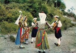 Grece Corfou Corfu Costumes Nationaux Folklore Costume National Danse CPM - Grecia