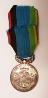 Médaille En Argent De La Société Des Sauveteurs De L'Aisne Fondée En 1876 Par A. Rogier - France