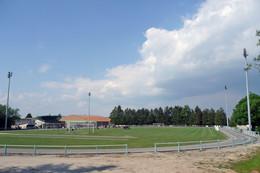 Civray (86 - France) Stade De Beauséjour - Civray