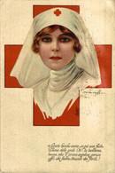 Infermiera. Red Cross La Croix Roug 1914/15 WWI WWICOLLECTION - Weltkrieg 1914-18