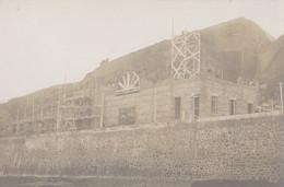 Granville 50 Manche   Construction Du Casino    Rochers Vers La Haute Ville   Peu Courante 1912 - Granville