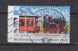 BRD 2020   MI /  2872  Mecklenburgische  Bäderbahn  Molli - Used Stamps