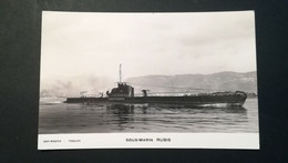 "SOUS-MARIN   """" RUBIS  "" Phot Marius Bar Toulon - Submarines"