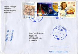 Auslands - Brief Von 417345 Nojorid Mit 7,70 Lei Schöner Mischfrankatur 2020 - Lettere