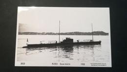 "SOUS-MARIN   """" RUBIS -1935 "" Phot Marius Bar Toulon - Submarines"