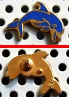 Arthus Bertrand : Logo DAUPHIN Affichage (il Existe 1 Modèle Avec Cerclage Avec La Marque) - Animali