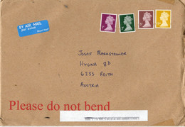 Auslands - Brief Von EN6 2AG Mit 1,68 Pfund Mischfrankatur Königin Elisabeth 2020 - 1952-.... (Elizabeth II)