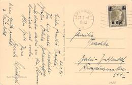 LUXEMBURG - ANSICHTSKARTE 23.1.41 > BERLIN-ZEHLENDORF Mi #20 //AA112* - Occupation 1938-45