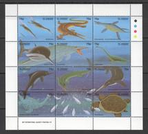 PK029 ST.VINCENT FAUNA REPTILES PREHISTORIC ANIMALS DINOSAURS 1SH MNH - Prehistóricos