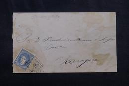 ESPAGNE - Enveloppe ( Incomplète ) Pour Zaragora, Période Régence  - L 72426 - Cartas